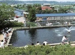 手賀沼のフィッシングセンターの画像
